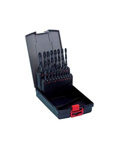 Würth Spiral Bohrer Set 19 tlg. HSS DIN Typ N 338 Sortiment Box Twist Drill Set 06344
