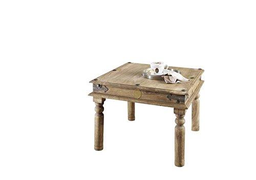 MASSIVMOEBEL24.DE Massivmöbel Kolonialstil Palisander geölt Couchtisch 60x60 Sheesham grau Kolonial massiv Holz Möbel LEEDS #26