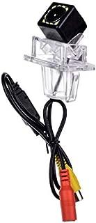 aSATAH 12 LED Car Rear View Camera for Mercedes Benz C180 C200 C280 C300 C350 C63 AMG/C Class W204/ E Class W212 W207 & HD CCD Night Vision Waterproof and Shockproof Reversing Backup Camera (12 LED)