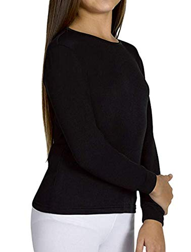 Ysabel Mora Kinder Thermo Unterhemd Langarm (70300) schwarz Gr. 164