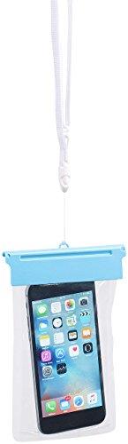 Somikon Handyhülle wasserdicht: wasserdichte Universal-Tasche für iPhone und Smartphone bis 12,2cm/4,8
