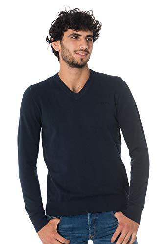 ディーゼルK-aroudスウェットシャツ、ブルー(Total Eclipse 81e)、ミディアムマン