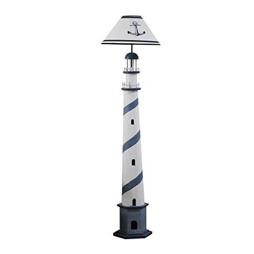 EIU  Mittelmeer Leuchtturm Stehlampe Retro Ozean Stehleuchte Wohnzimmer Schlafzimmer-Fußboden-Licht-Kind-Raum Wohnkultur 7/4
