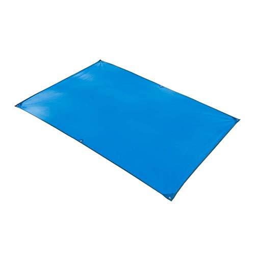 YYF Leichte Strandmatte Picknickdecke Outdoor Picknickdecke Zeltpolster tragbar wasserdicht 251 × 215 cm wasserdicht, blau, 150×215cm