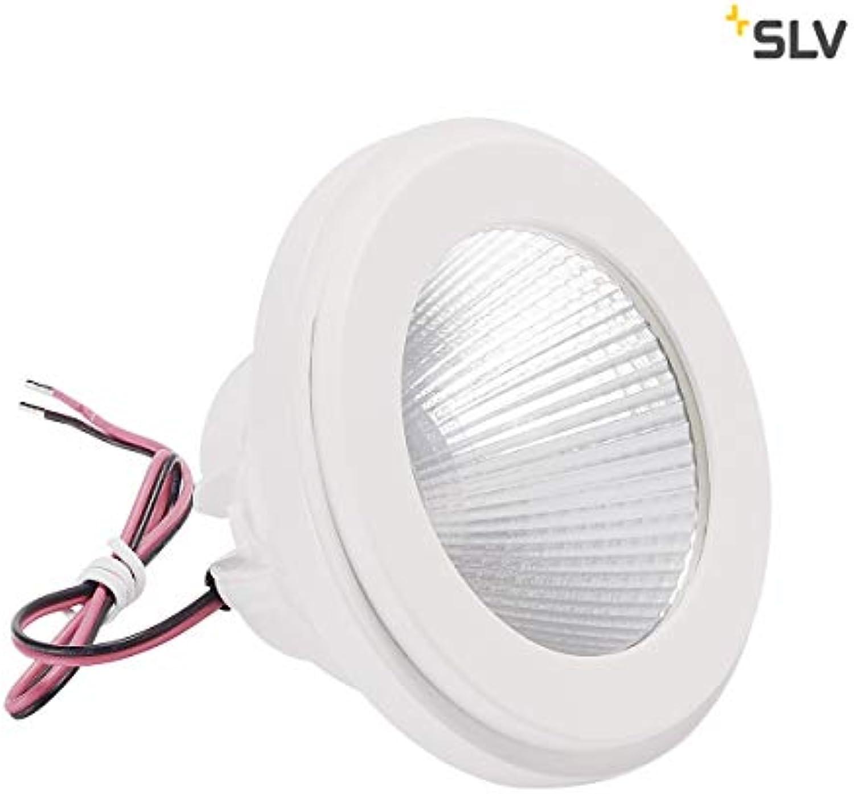 SLV LV LED, QPAR111 Modul 40° Aluminium wei