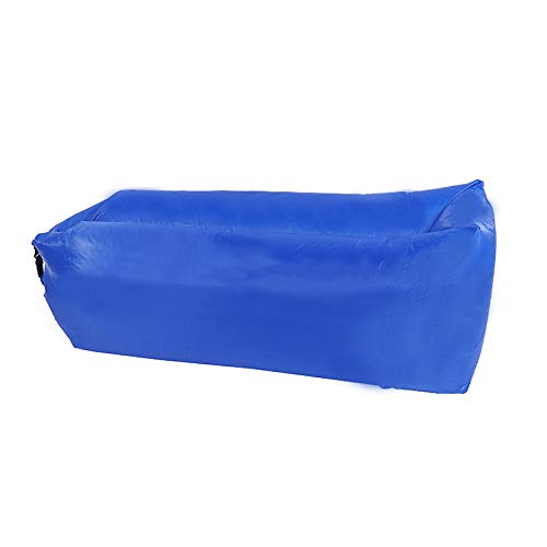 ZTOONE Inflatable Lounger Couch Air Lounger Lazy Sofa with Carry Bag,Hammock Inflatable Mattress Inflatable Bed Pool Float for Swim,Camping,Beach,Hiking,Park,Backyard, Pool, Picnics (Navy blue)