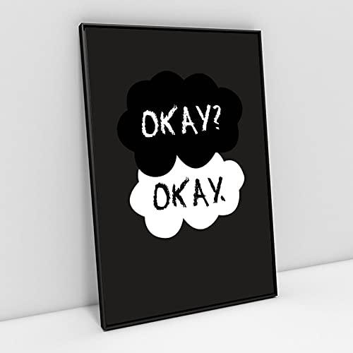 Quadro decorativo poster A4 The Fault in Our Stars Okay Scene