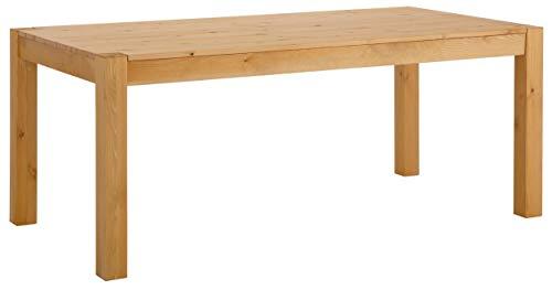 Loft24 Monique Esszimmertisch Kiefer massiv Esstisch Küchentisch 200x100 cm Tisch Esszimmer Küche Natur gebeizt geölt