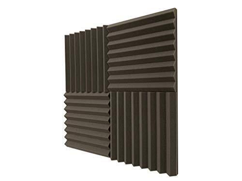 Lote de 24 planchas de espuma acústica (305mm, 0,60 NRC)