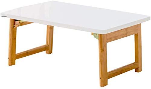 WYQ- Bamboo computer bureau klaptafel kleine salontafel salontafel wit klein bureau van hoge kwaliteit (Size : 120 * 48 * 45 cm)
