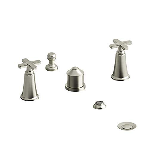 Review Of Riobel MMRD09XBN 4-piece bidet faucet with integrated vacuum breaker, BN