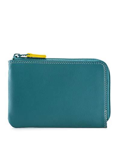 Portafoglio donna in pelle - MYWALIT -8 CC ziparound wallet - 1257-129 - Mint
