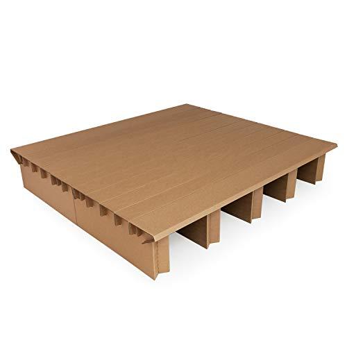 Pappbett Dream 180 cm Breite, 200 cm Länge, Erweiterung mit passenden Bettkästen möglich