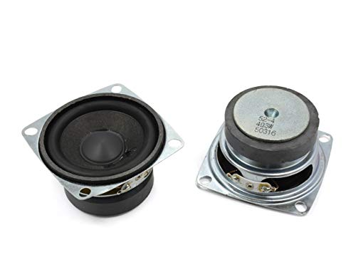 小型 スピーカーユニット2インチ(50mm) 4Ω/3W [スピーカー自作/DIYオーディオ]/1個