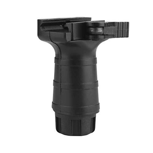 Ranstac Airsoft FrontGriff Foregrip Nylon Vertikaler Griff Vertical Fore Grip Griffe für 20mm Picatinny Schiene Montage CJ/WB-03 (Kurz, Quick Release, Keine Montagewerkzeuge Erforderlich, Höhe 80mm)