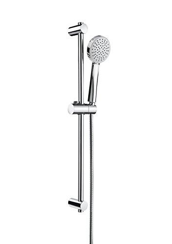 Roca Stella - Kit de ducha. incluye ducha de mano de 100 mm de 1 función, barra de 700 mm, soporte regulable pa . Duchas y rociadores. Ref.A5B9D03C00
