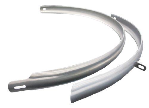 """CURANA CLite Schutzblech 28\"""" 35 mm Silber 2019 Schutzblech Set"""