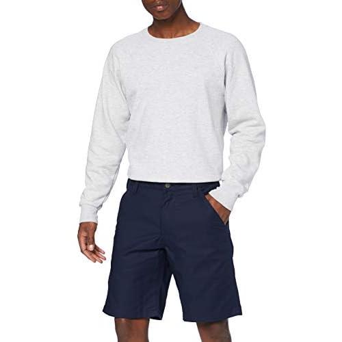 Carhartt Rugged Professional Stretch Canvas Short Pantaloncini, Navy, W38 Uomo