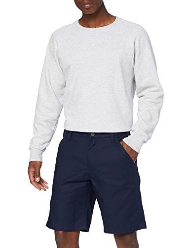 Carhartt Herren Rugged Professional Stretch Canvas Shorts, Navy, W30