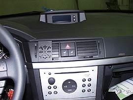 OPEL MERIVA DashMount Baujahr ab 2003 KFZ Navi Handy Halterung von telebox