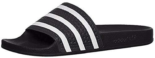 Adidas Adilette Badelatschen (Black/White, Numeric_42)