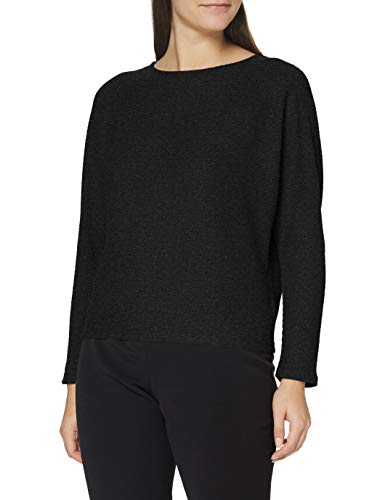 OPUS Damen Galsta Sweatshirt, Slate Grey Melange, 44