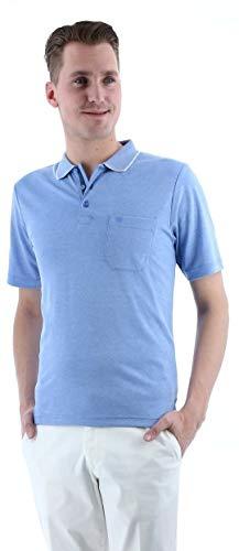 Redmond Poloshirt hellblau, Gr. 4XL