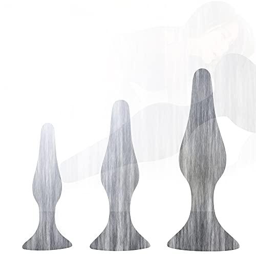 Annale Grande, Silicona Mạssạgẹr, para Expansión, compuesta por tres piezas de diferentes S, M, L, en un elegante color negro