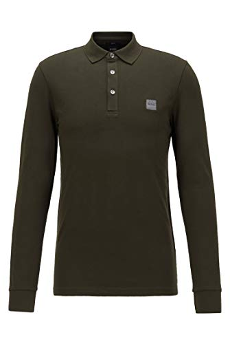 Boss Passerby Polo, Verde (Open Green 346), Large Uomo