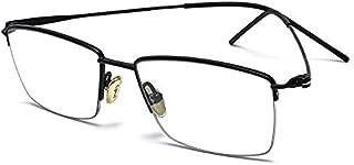 نظارة الضوء الازرق من سايكسوس، لحماية العين من الارهاق، اطار مستطيل بتصميم ريترو، عدسات شفافة، مناسبة للاستخدام مع الكمبيو...