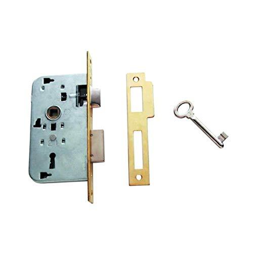 Tesa Assa Abloy 200240HL Cerradura De Embutir Para Puertas De Madera Bronce (Latonado) Entrada 40 mm 2002