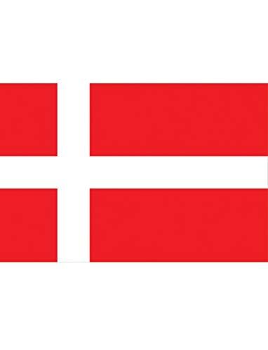 "TrendClub100® Fahne Flagge ""Dänemark Denmark DK"" - 150x90 cm / 90x150cm"