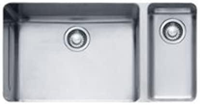 Franke KBX160 Kubus 15-Inch x 28-Inch Offset Double Bowl Undermount Kitchen Sink by Franke