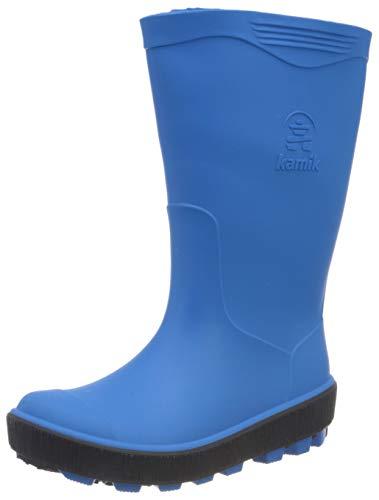 Kamik Riptide, Stivali di Gomma Unisex-Bambini, Blu (Blue Blu), 30 EU