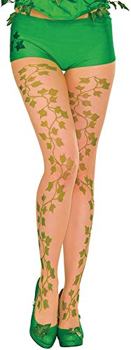Rubie's Women's DC Comics Poison Ivy Tights, One Size, Green