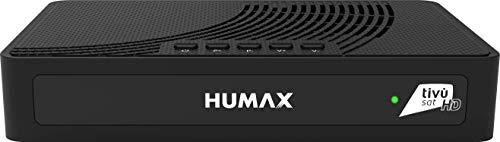 Humax – Ricevitore Satellitare HD con codifica S2 HD-3600S2 + scheda Tivùsat
