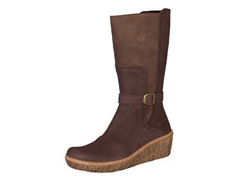 El Naturalista Borago, Sneaker Infilare Donna, Marrone (Wood Wood), 38 EU