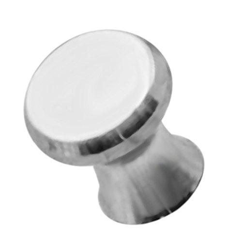 Baoblaze Perilla de Aluminio para Muebles Manija para Muebles Perillas para Muebles Perillas para Muebles, Plata
