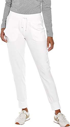 Coolibar Pantalon décontracté pour Femme, Protection UV SPF 50+, oxyde de Zinc XXL Blanc