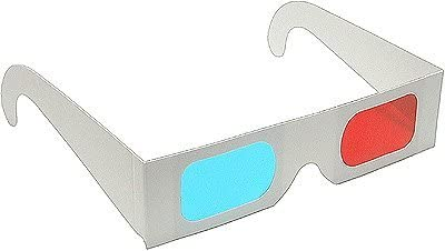 3D Glasses Direct-3D Glasses - Red and Cyan cardboard-50 Pairs Unfolded - Buy 3D Glasses in Bulk and Save - White or Yellow Frame