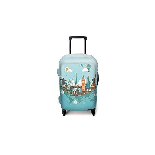Funda de maleta Luggitas Cosmopolitan Tour talla S