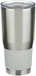 Boelter Brands H2X Vacuum Sealed Ultra Tumbler, Silver, 30 oz