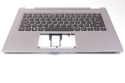 FMB-I Compatible with 6B.HFCN5.001 Replacement for Acer US Palmrest Keyboard SP314-53N-77AJ-US