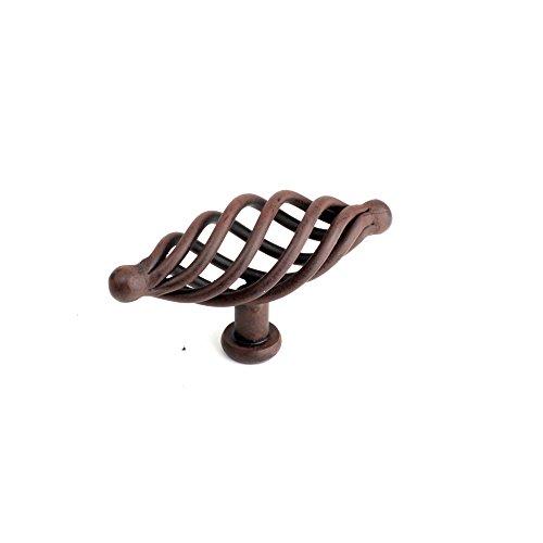 Century Hardware 42429-NR Saxon Appliance Oval Knob, Rust