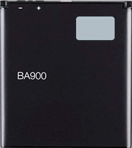 Bateria Compatible con BA900 para Sony Xperia L/Sony Xperia M/Xperia TX/GX LT29i Hayabusa/Xperia J (ST26/ST26i/ST26a) / Xperia E1 / JLo