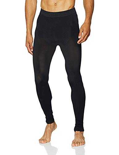 Sundried Performance Herrentrainingshose für Gym Yoga Sports Running - Herren Winter Leggings (Schwarz, S)