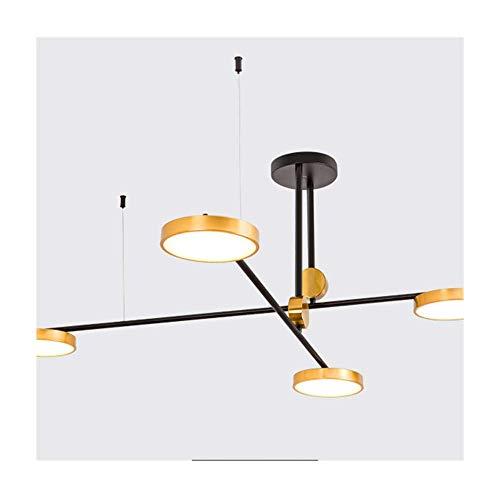 Z-GJM Lámpara de araña Sputnik Lámpara colgante de alumin