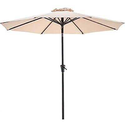 Le conte 9ft Patio Umbrella Outdoor Market umbr...