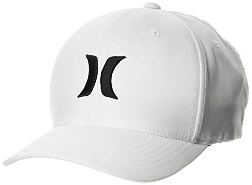 Hurley M Dri-Fit One&Only 2.0 Hat Gorra, Hombre, Cream, S/M