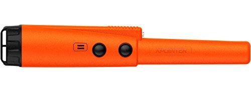 DETEKNIX Pin-Pointer Metal Detector Xpointer Orange with Ratio Audio/Vibration Indication